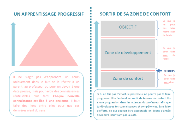 Un apprentissage progressif