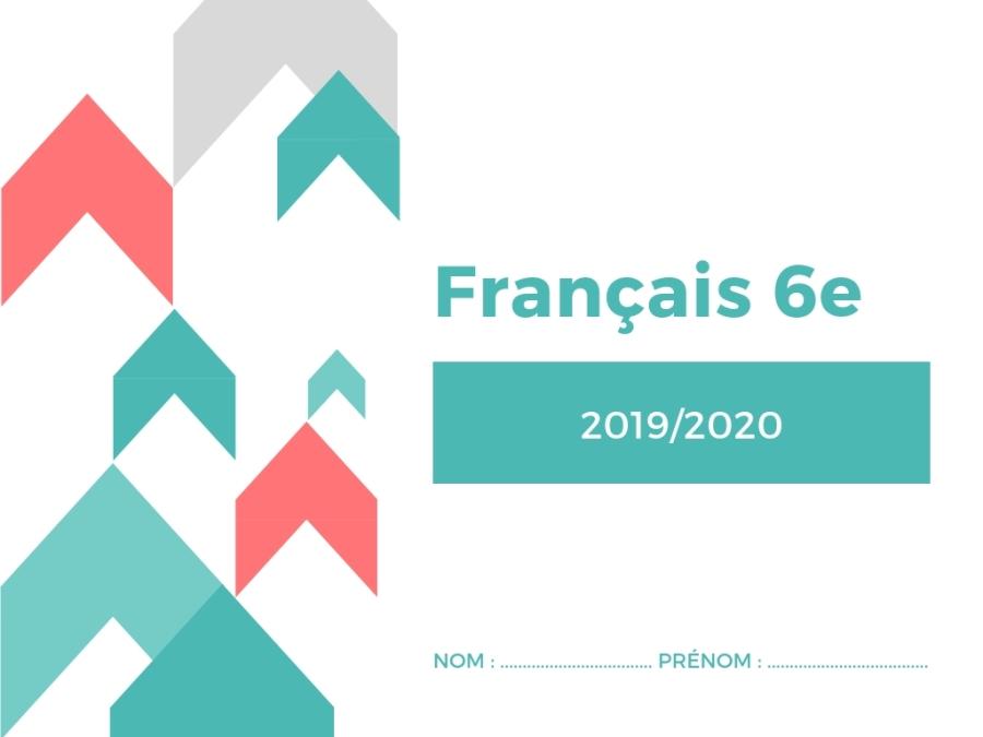 Livret français 6e